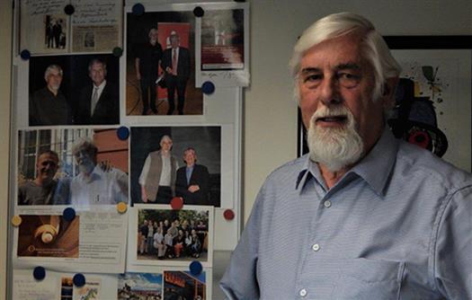Egon Galmbacher,  Leiter des Medienzentrums